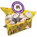 Fur Mouse Cheesebox Display 60 Pieces