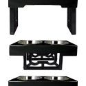 BARKING BISTRO ADJUSTABLE DOG FEEDER
