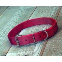Cow Collar Red 40""