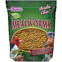 NATURAL WILD BIRD FOOD DRIED MEALWORMS