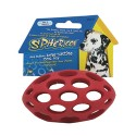 The sphericon 5 in colorful dog toy