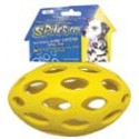 The sphericon 8 in colorful dog toy