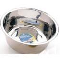 1Qt Stainless Steel Mirror Dog Dish