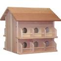 Cedar 12 Room Deluxe Birdhouse