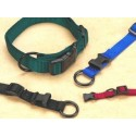 "3/8"" Fits All Adjustable Nylon Collar - Black 7-12"