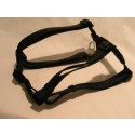 Adjustable Dog Harness - Black - Large