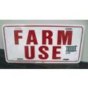 FARM USE ID TAG    WHITE      5