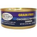 TRIUMPH GRAIN FREE CHICKEN & WHTFISH CAN CAT FOOD