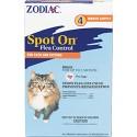 ZODIAC SPOT ON CATS 1CC 4PK